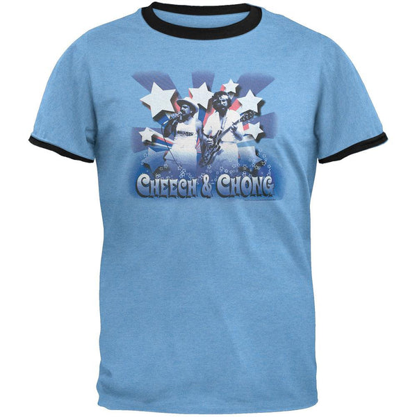 Cheech & Chong - Stars Ringer T-Shirt