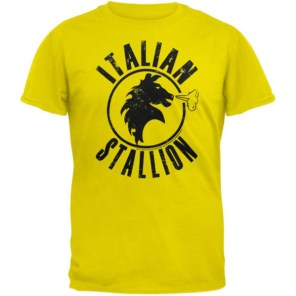 Rocky - Italian Stallion Yellow T-Shirt