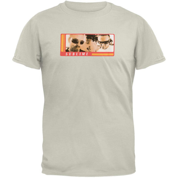 Sublime - Fly Guys Tan Adult T-Shirt