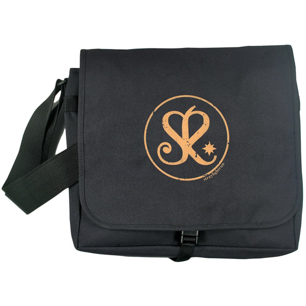 Straylight Run - Heart Logo Messenger Bag