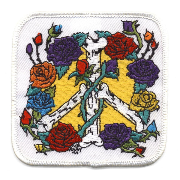 Peace & Roses Patch