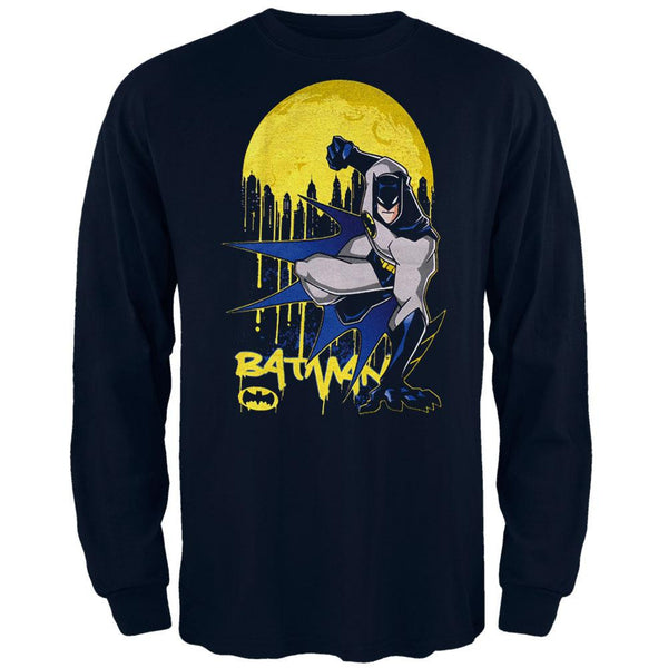 Batman - Drip Moon Youth Long Sleeve T-Shirt