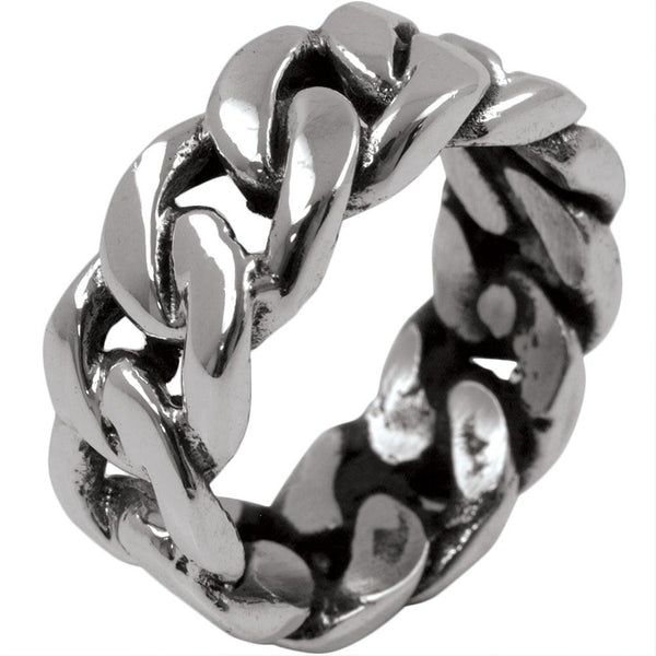 Chain Link - Silver Ring