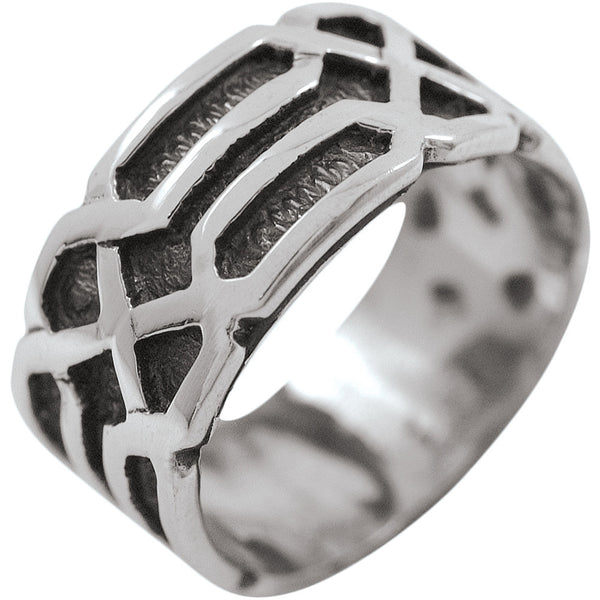 Large Celtic Braid - Silver Ring