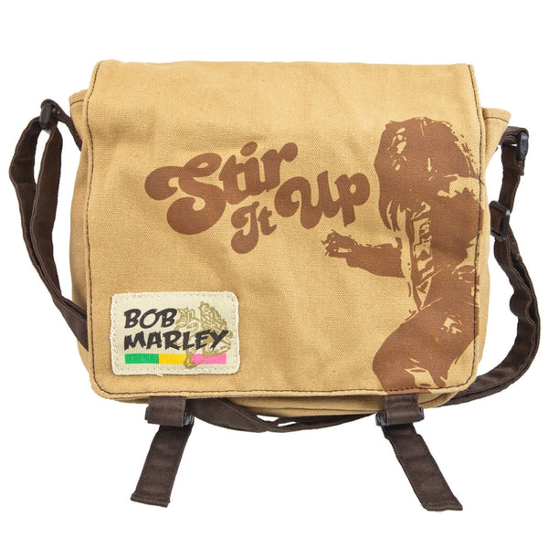 Bob Marley - Stir Messenger Bag 7 X 9