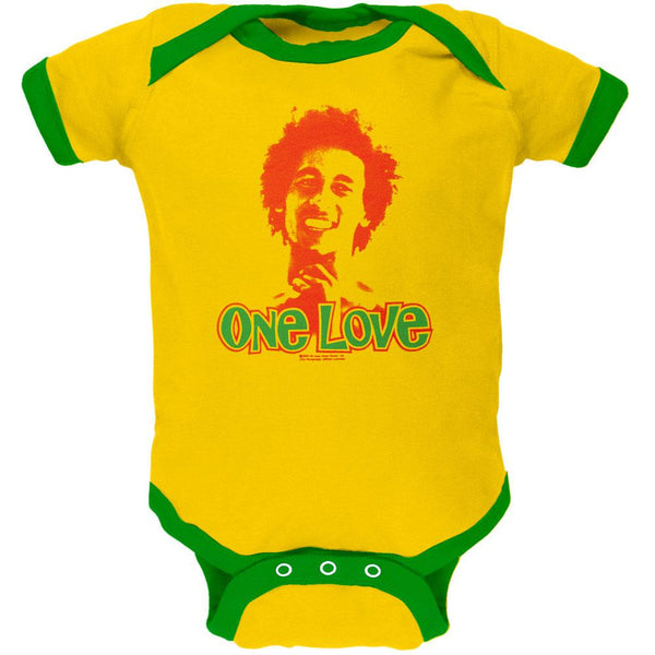 Bob Marley - One Love Yellow Baby One Piece