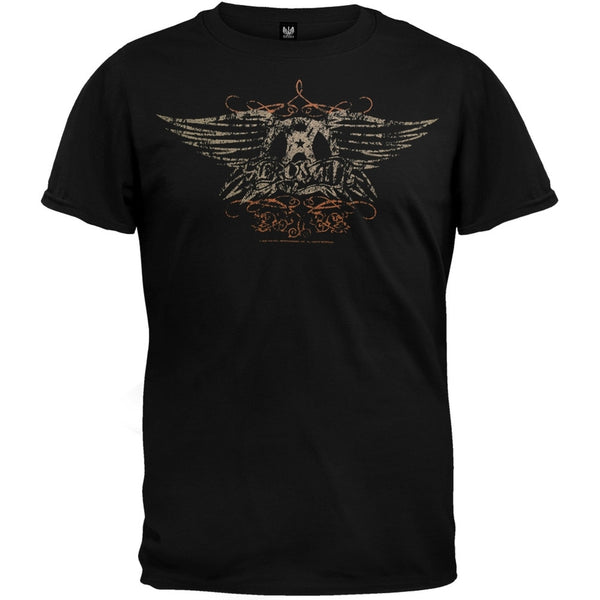 Aerosmith - Faded Wings T-Shirt