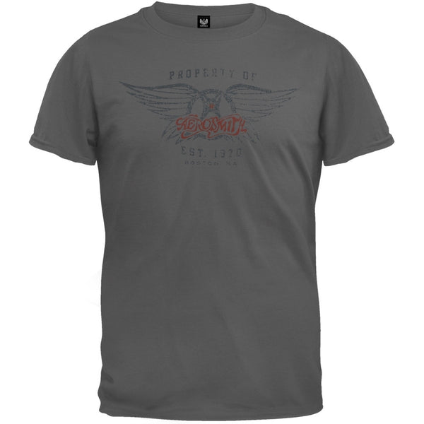 Aerosmith - Athletic Logo T-Shirt