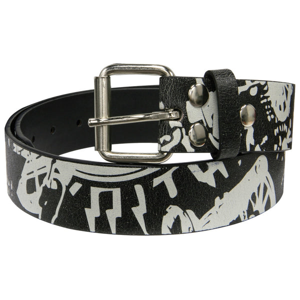 AC/DC - Collage Print Belt