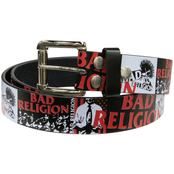 Bad Religion - Logo Collage Belt