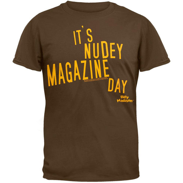 Billy Madison - Nudey Magazine Day T-Shirt