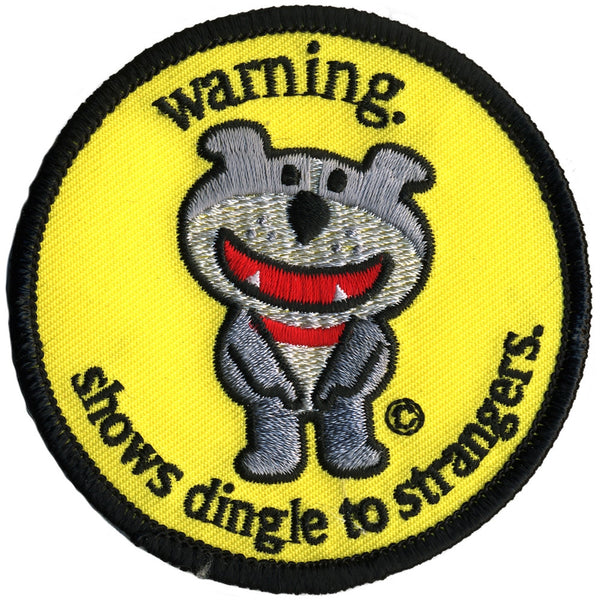 Dog of Glee - Warning Dingle Patch
