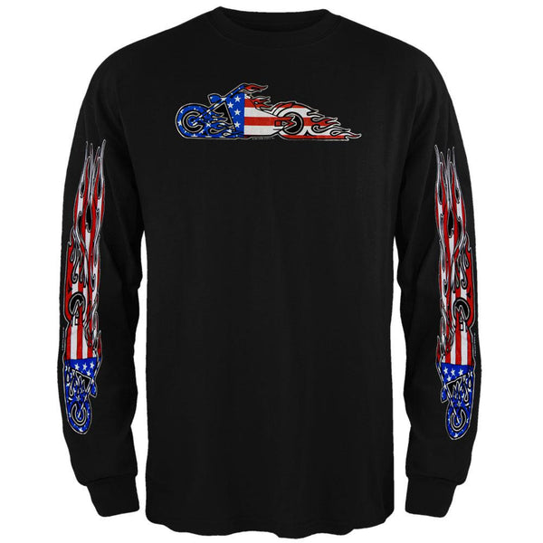 American Fire Bike Long Sleeve T-Shirt