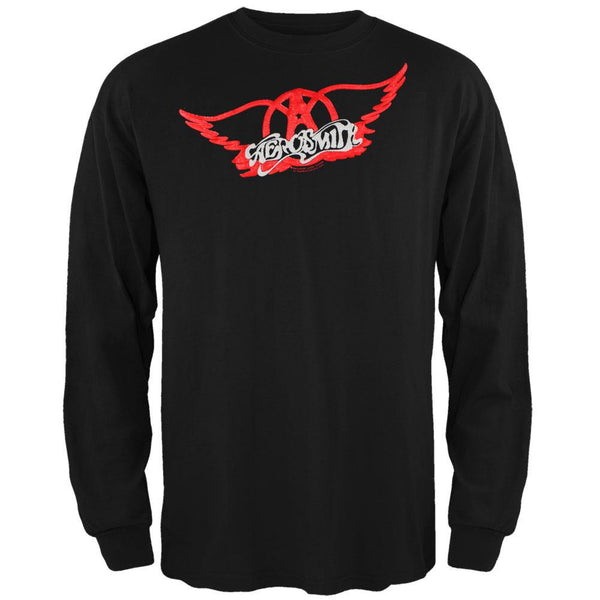 Aerosmith - 3D Wings Long Sleeve T-Shirt