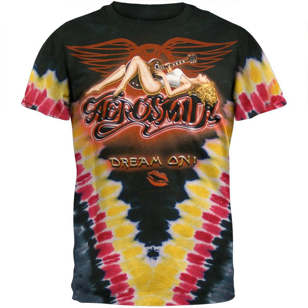 Aerosmith - Dream On Tie Dye T-Shirt