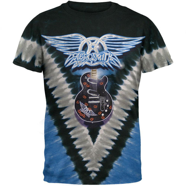 Aerosmith - Guitar Tie Dye T-Shirt
