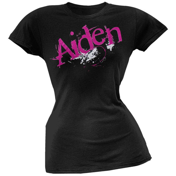 Aiden - Glow In The Dark Juniors T-Shirt