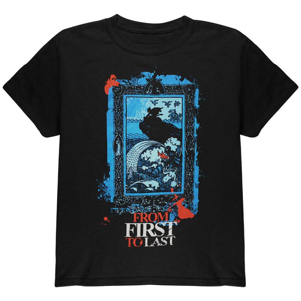 From First To Last - Sea Monster Youth T-Shirt