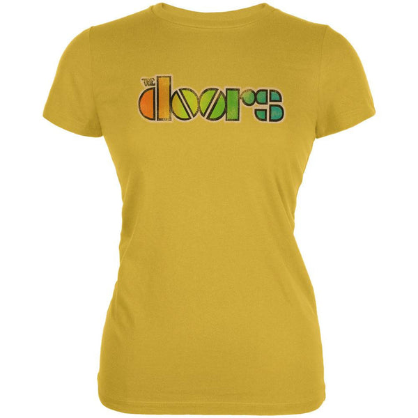 The Doors - Rainbow Logo Juniors T-Shirt