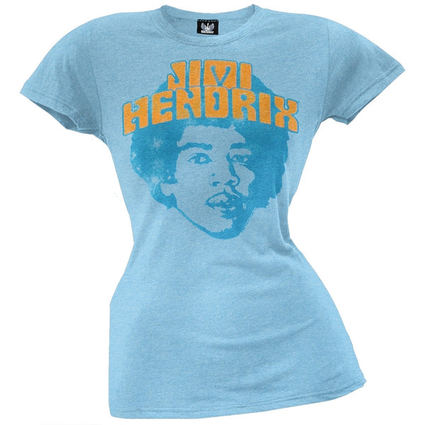 Jimi Hendrix - Heads Juniors T-Shirt