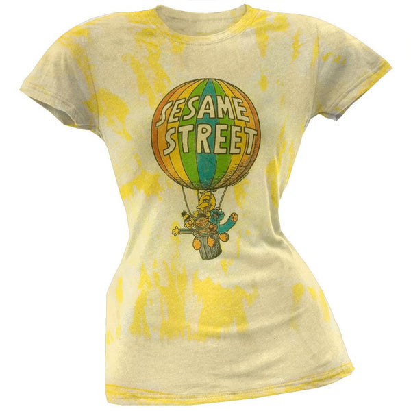 Sesame Street - Balloon Juniors Burnout T-Shirt
