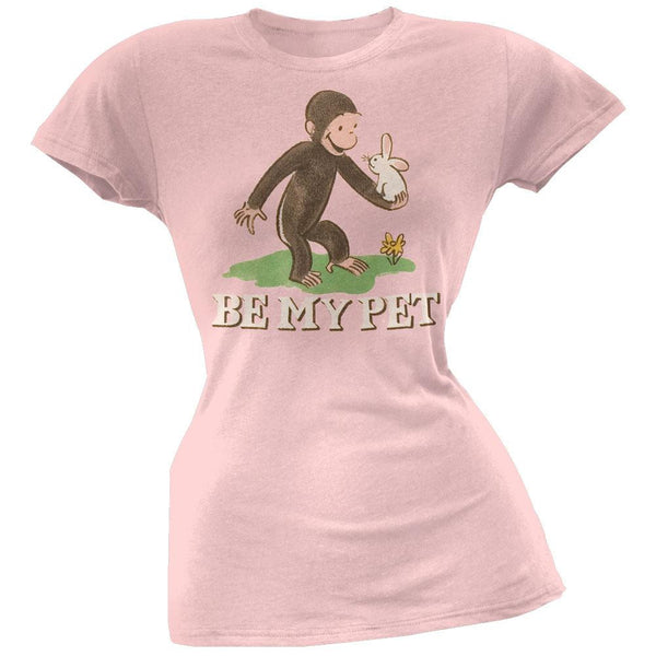 Curious George - Be My Pet Juniors T-Shirt