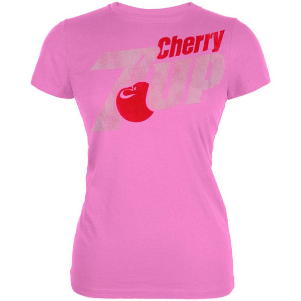 Cherry 7Up - Logo Juniors T-Shirt