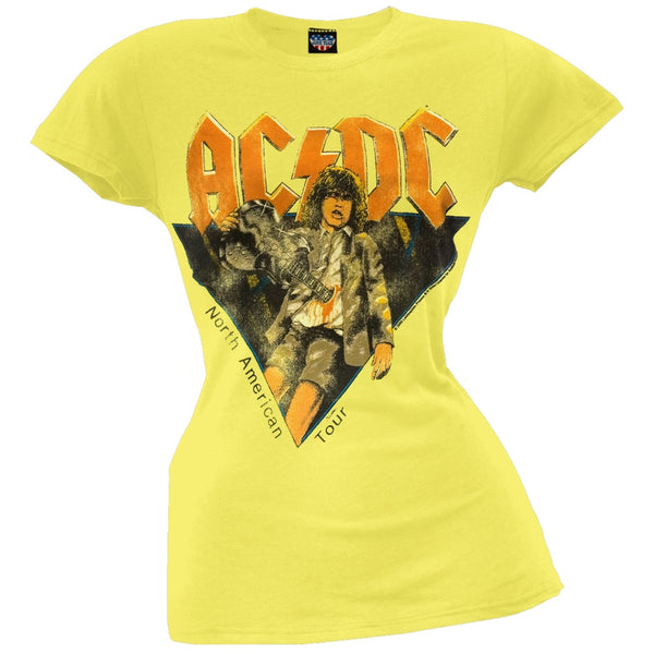AC/DC - North American Tour Juniors T-Shirt