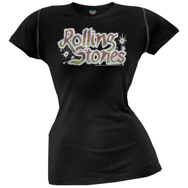 Rolling Stones - Tattoo You Juniors Black T-Shirt