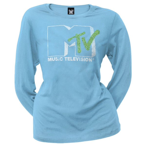 MTV - Logo Juniors Long Sleeve T-Shirt