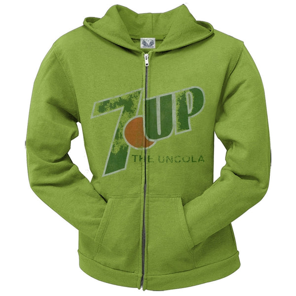 7Up - The Uncola Juniors Zip Up Hoodie