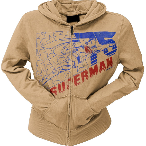 Superman - 75 Ladies Hoodie