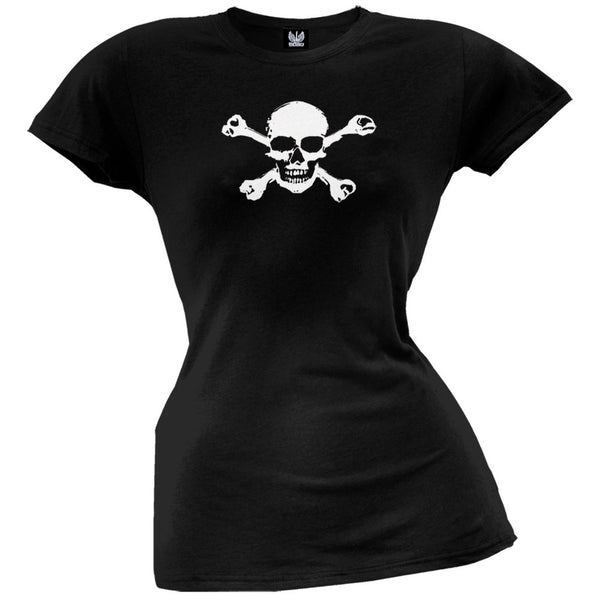 Pirate Skull & Crossbones Juniors T-Shirt