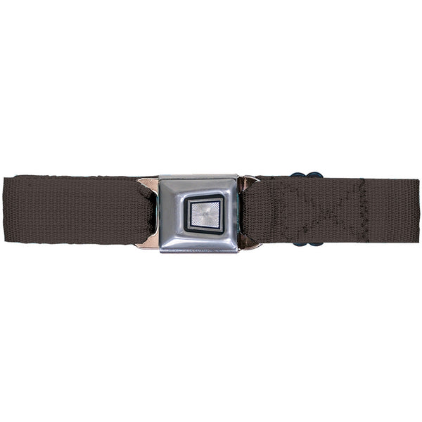 Ford Burst Seatbelt - Brown Web Belt