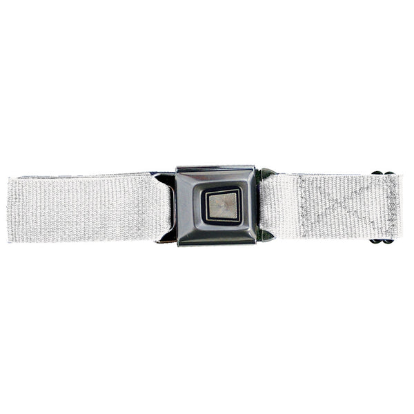 Ford Burst Seatbelt - White Web Belt
