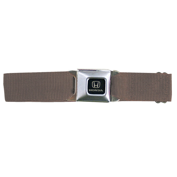 Honda Seatbelt - Brown Web Belt