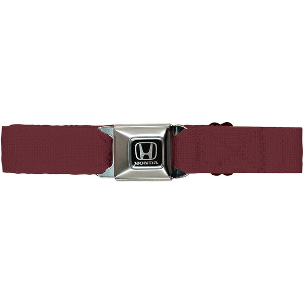 Honda Seatbelt - Burgundy Web Belt