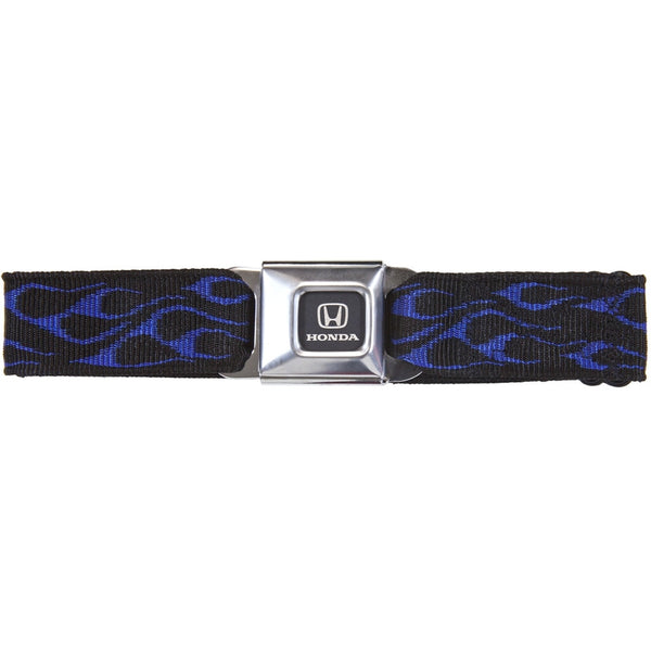 Honda Seatbelt - Flame Blue Web Belt