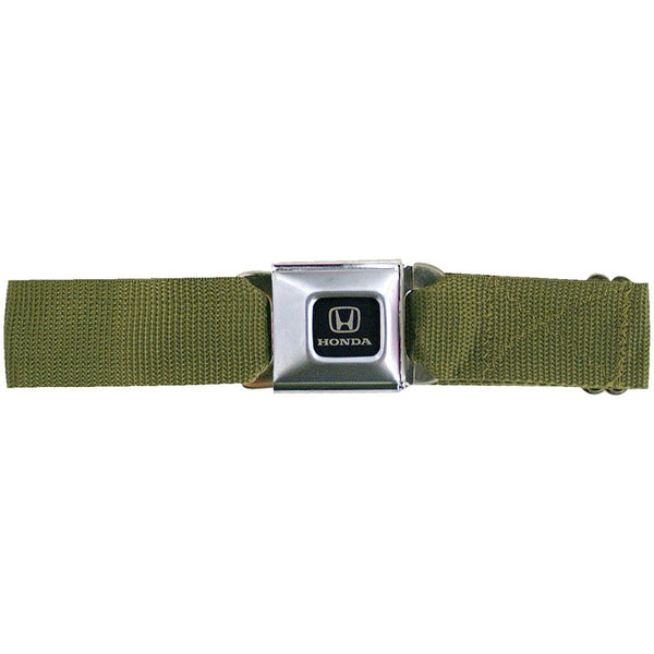 Honda Seatbelt - Olive Web Belt