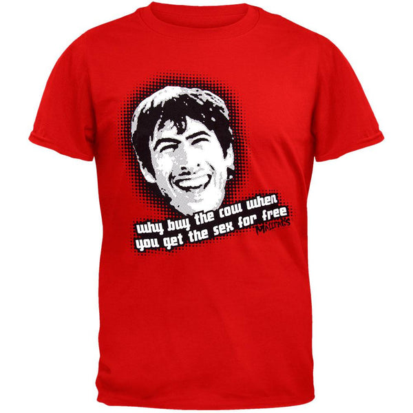 Mallrats - Why Buy The Cow T-Shirt