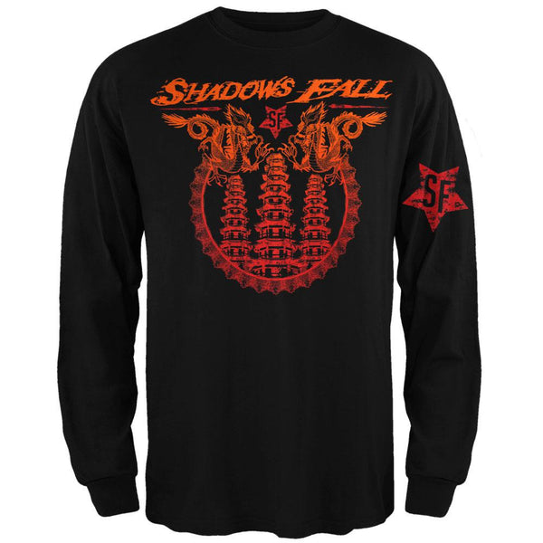 Shadows Fall - Dragon Temple Long Sleeve T-Shirt