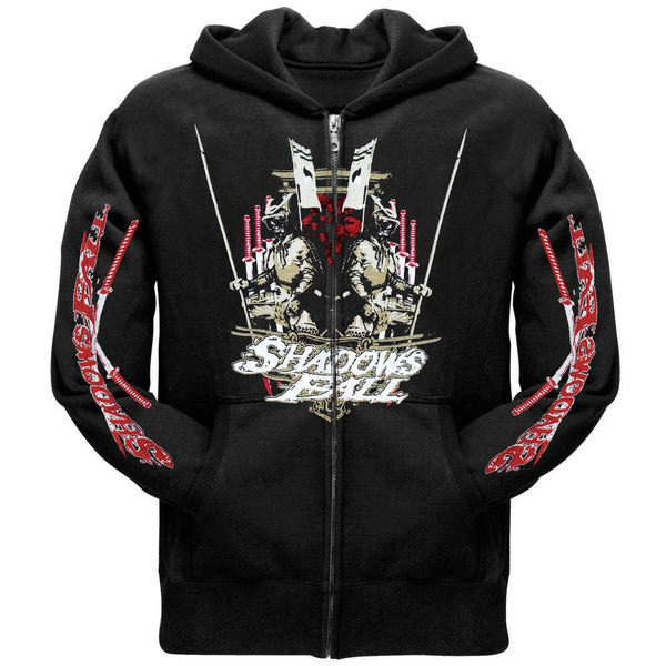 Shadows Fall - Warrior Zip Up Hoodie