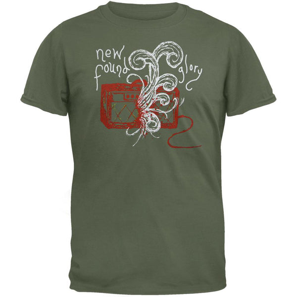 New Found Glory - Green Boom T-Shirt