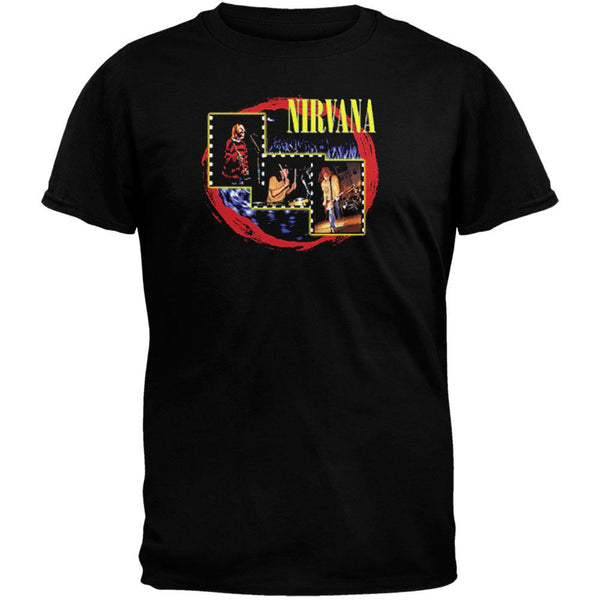 Nirvana - Red Circle T-Shirt