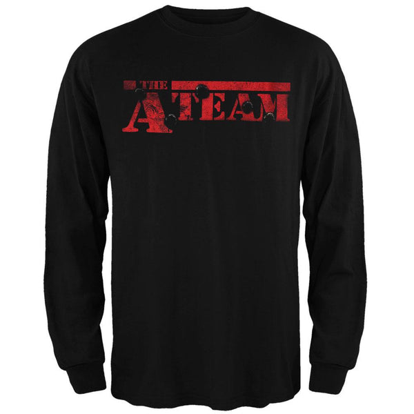 A-Team - Bullet Logo Long Sleeve T-Shirt