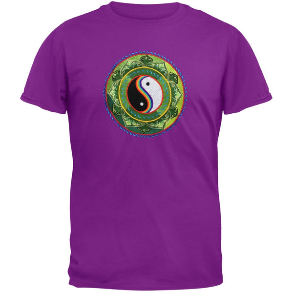 Embroidered Yin & Yang T-Shirt