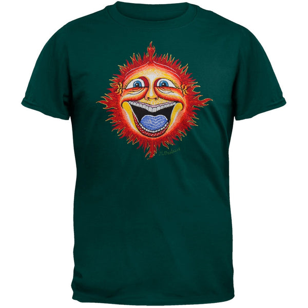 Smilin Sun Embroidered T-Shirt