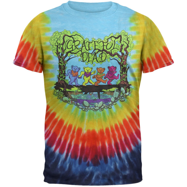 Grateful Dead - Wood Bears Tie Dye T-Shirt