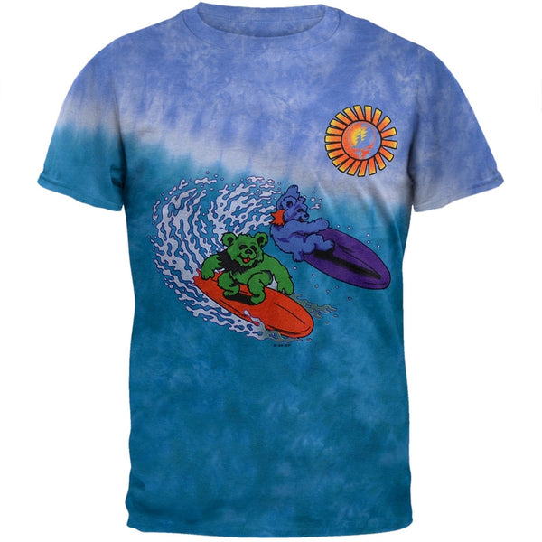 Grateful Dead - Surfer Bears Tie Dye T-Shirt