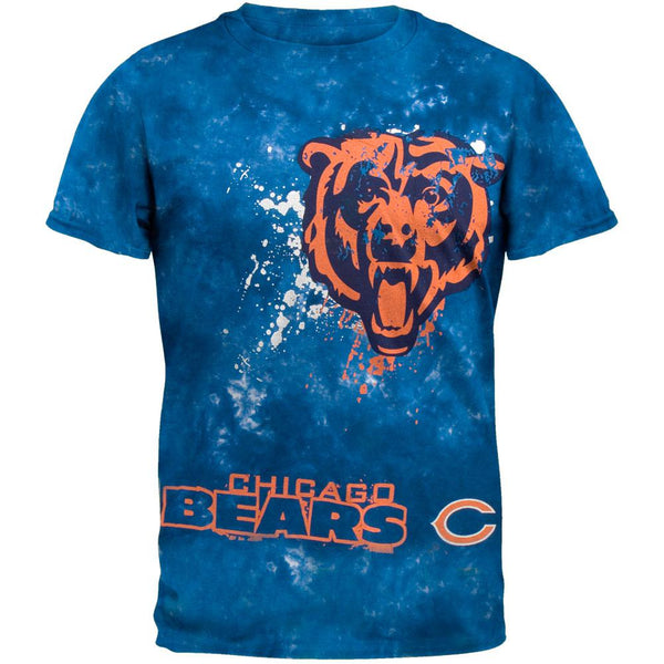 Chicago Bears - Fade Tie Dye T-Shirt